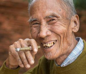 The man from Bagan