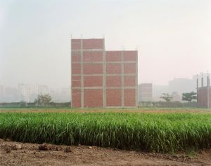 New Construction on Farmland; Cairo © Noah Addis