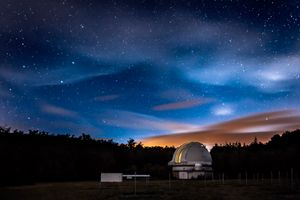 Tautenburg Observatory near Jena, Germany.