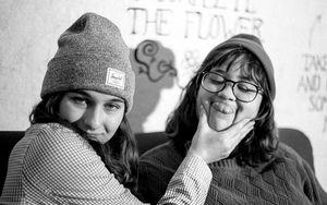 Gwen Ooghe and Karissa Ortiz