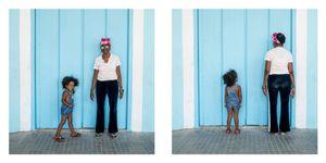 Grandma and granddaugther, Havana