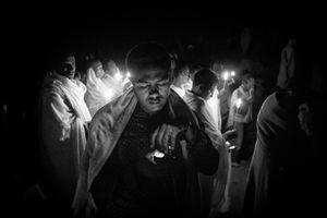 Pilgrimage at Lalibela, Eight.