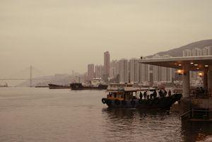 Looming dawn in the bay