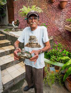 Man with Pet Turtle, Havana, Cuba