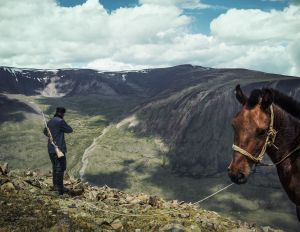 "Mt. Tsambagarav, Mongolia, 2014. From the series ""The Outsider."""