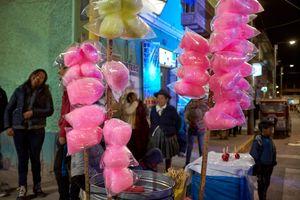 Cotton Candy, Plaza de Armas, Calca, Peru