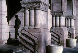 Entrance, Landmark Center, St. Paul, MN