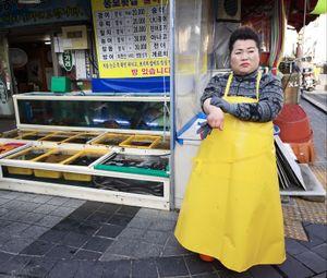 Busan fishmonger