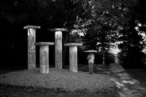 The pillars, 2013 © Guillaume Martial