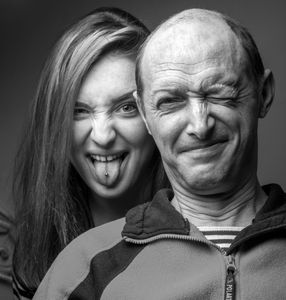 Daughter and Father