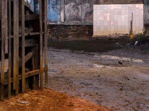 Walls. Baicu, Itaparica Island. Bahia, Brasil. 2015.