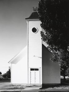 Methodist church, Bowen, Colorado © Robert Adams
