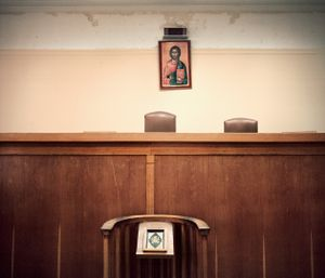 Court room, Central Court House      © Eirini Vourloumis