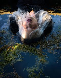 Ophelia Floating into Darkness