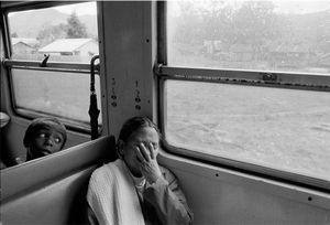 """""""On the Train to Tamatave."""" 1993"""