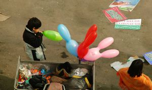 Vendor kid