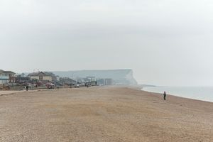 Seafront & cliffs, Seaford