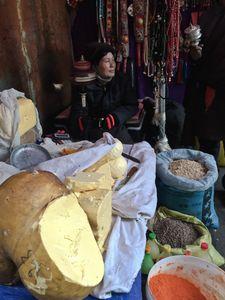 Yak Butter Seller
