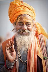 Sadhu portrait 09