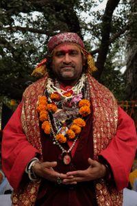 Mystic Baba under the Bodhi Tree
