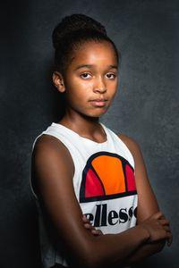 Estelle aged 11.