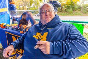 Don - Michigan Wolverines Fanatic, Michigan Stadium, Ann Arbor 2018