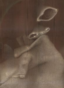 Wool and womb DETAIL (from the series PHOTO-BODIES: In between the edge of a stitched soul)