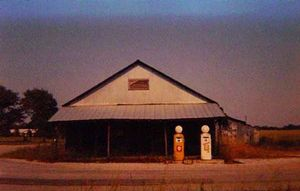 Country Store with Gasoline Pumps, Emelle Alabama