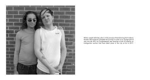 Radius: Joseph & Dee who's hoping to complete her transition to female in a year or so