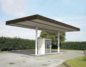 """Station #7, from """"Twentysix Abandoned Gasoline Stations"""" © Eric Tabuchi"""