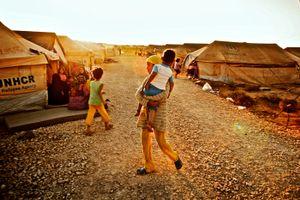 Zaatari Syrian Refugee Camp
