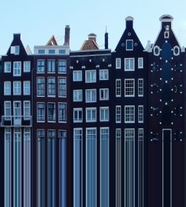 Urban Landscape . Amsterdam