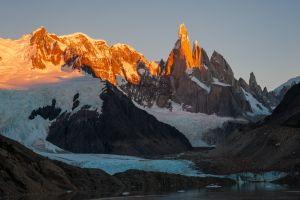 Morgenrot of Mt.Cerro Torre