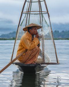 Перекур рыбака.
