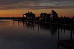 Sunrise on MacMillan Wharf