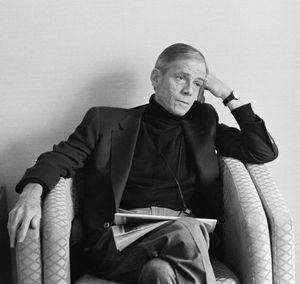 James Merrill, Writer, Toronto, 1991
