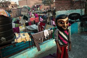 Un roi sur les toits de Kathputli Colony