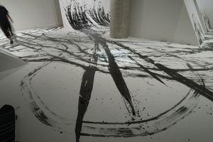 "Skateboarding calligraphy ""FREEHAND""by Takahiro Morita _8"