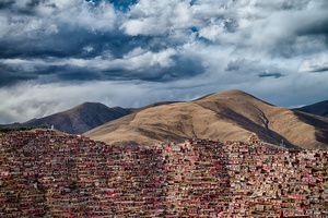 Home of 40,000 Buddhist monks in Sichuan province