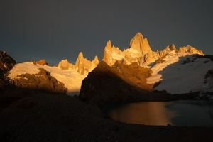 Morgenrot of Mt.Chalten