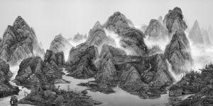 © Yongliang Yang, From the New World, 2014, Shanghai, Hong Kong, Taipei, etc. Series: Artificial Wonderland