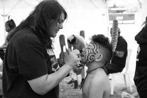 Tā Moko - Traditional Facial Tattoo