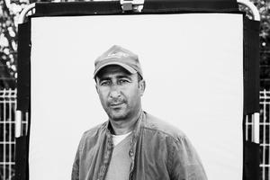 Sami Salh, syrian, taxi driver.