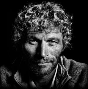 "Bernard Stamm, from the series ""Blue Eyes, Portraits of Navigators"" © Maud Bernos"