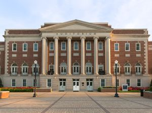 Foster Auditorium; University of Alabama; Tuscaloosa, Alabama 2018