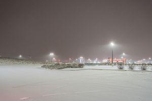 Parking lot near Teterboro Airport