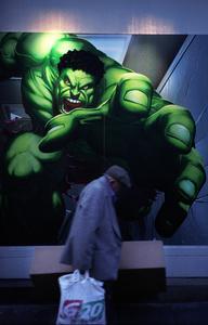 Hulk and Homeless Man