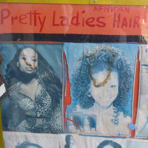 Pretty ladies Hair