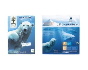 Brochure: Mulhouse Zoo (France) and Grandview (正佳商場) Aquarium (China)