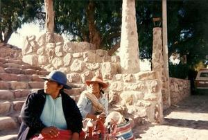 Vendedoras en Humahuaca. Jujuy. Argentina